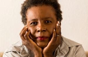 CLAREMONT, CA - SEPTEMBER 26, 2014 - Poet Claudia Rankine at her home, September 26, 2014. (Ricardo DeAratanha/Los Angeles Times)