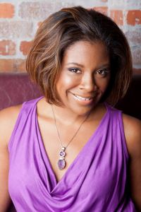 "Sadeqa Johnson, author of the new novel ""Love in a Carry-On Bag, due out March 2012."